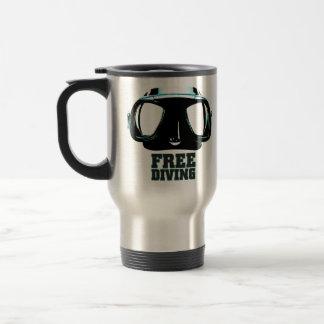 Taza del viaje del acero inoxidable de Freediving