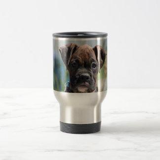 Taza del viaje del acero inoxidable del perrito