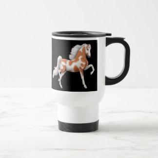 Taza del viaje del caballo de Saddlebred del ameri