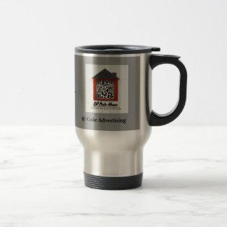 Taza del viaje del café del hogar del código de Qr