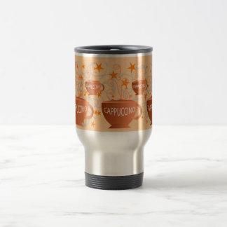 taza del viaje del cappuccino