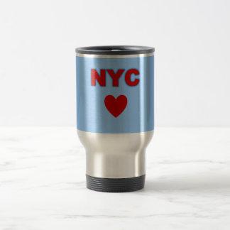 Taza del viaje del corazón de NYC