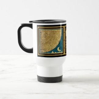 Taza del viaje del cuadrante del astrolabio