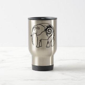 Taza del viaje del elefante