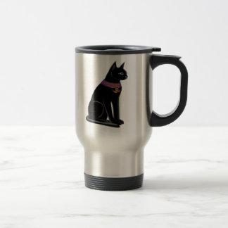 Taza del viaje del gato de Bastet