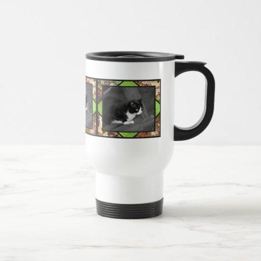 Taza del viaje del gato del corral