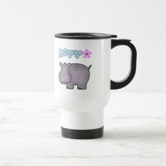 Taza del viaje del hipopótamo