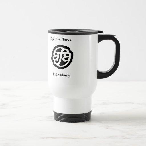 Taza del viaje del logotipo del AFA del alcohol