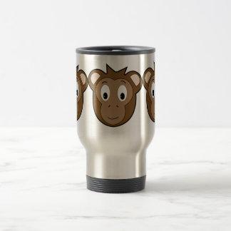 Taza del viaje del mono