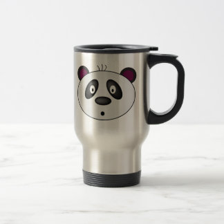 Taza del viaje del oso de panda