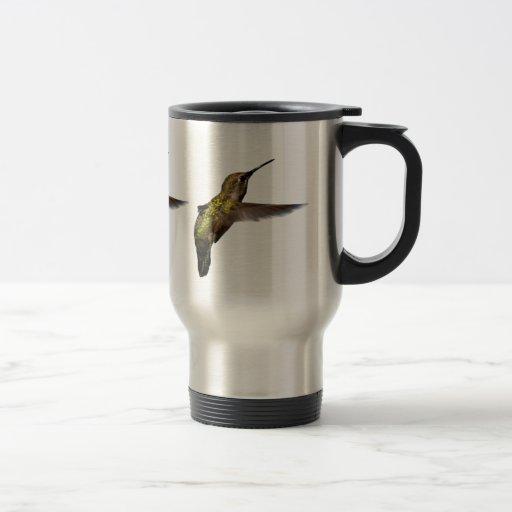 Taza del viaje del pájaro del tarareo