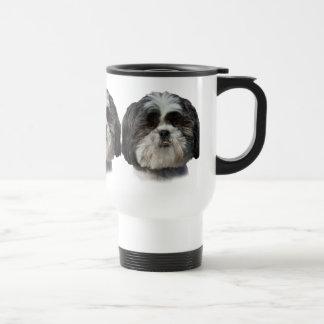 Taza del viaje del perro de Shih Tzu