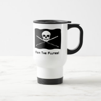 Taza del viaje del pirata de la flauta