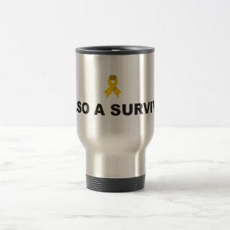 Taza del viaje del superviviente del cáncer de la