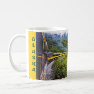 Taza del viaje del tren de ferrocarril de Alaska