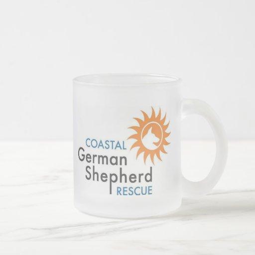 Taza del vidrio esmerilado - Coastal GSR