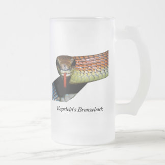 Taza del vidrio esmerilado de Bronzeback de