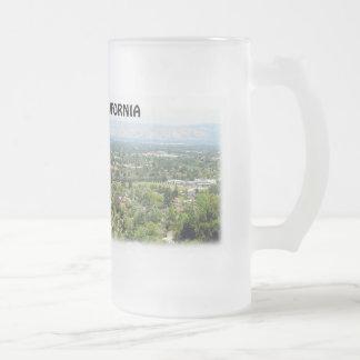 Taza del vidrio esmerilado de Cupertino California