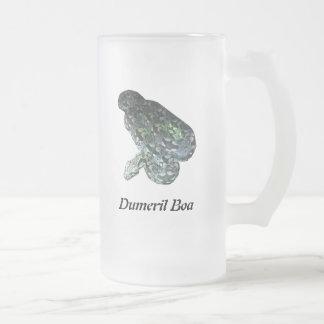 Taza del vidrio esmerilado de Dumeril