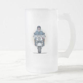 Taza del vidrio esmerilado de la motocicleta de la