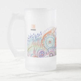 Taza del vidrio esmerilado de SOBE