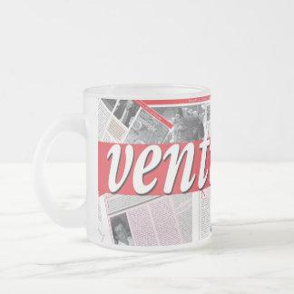 Taza del vidrio esmerilado de Ventirighe