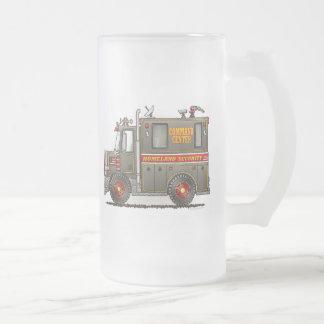 Taza del vidrio esmerilado del camión de la seguri