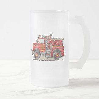 Taza del vidrio esmerilado del camión del rescate