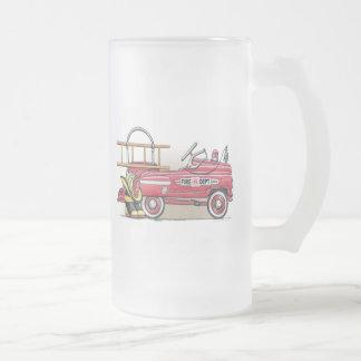 Taza del vidrio esmerilado del coche del pedal del