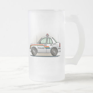 Taza del vidrio esmerilado del coche del poli del