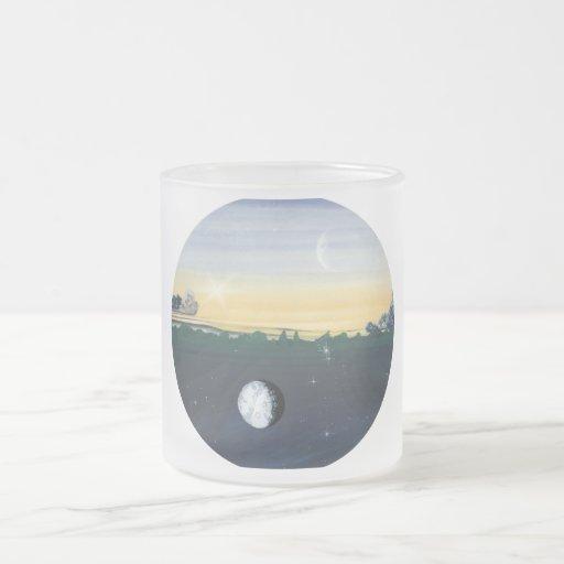 Taza del vidrio esmerilado del equinoccio