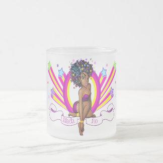 """Taza del vidrio esmerilado del estilo de """"Starz"""""""