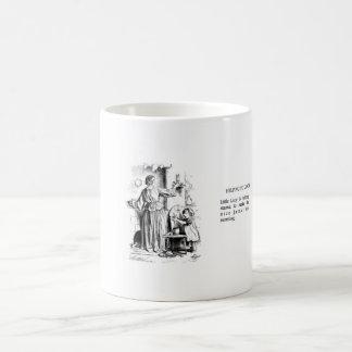 Taza del vintage - ayudando a cocinar