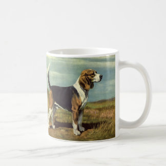 Taza del vintage del beagle