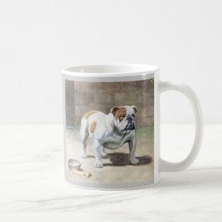 Taza del vintage del dogo