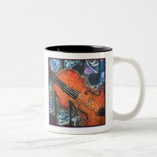 Taza del violín del violín