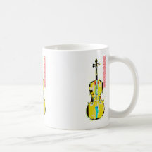 Taza del violoncelo de Leslie Harlow