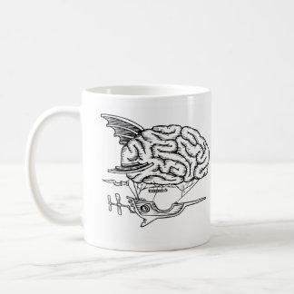 Taza del zepelín del cerebro
