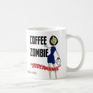 Taza del zombi del café