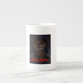 Taza del zombi taza de porcelana