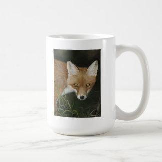 taza del zorro rojo