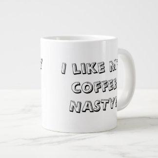 Taza desagradable de la extra grande del café taza grande