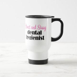 Taza descarada del viaje del higienista dental