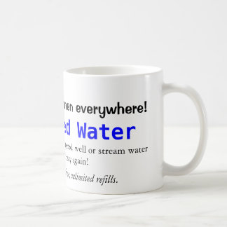 Taza deshidratada del agua