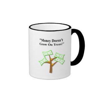 """Taza diaria de los árboles de Dadisms el """"dinero n"""