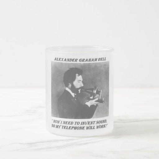 Taza divertida de Alexander Bell