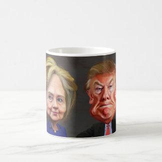 Taza divertida de Donald Trump y de café de