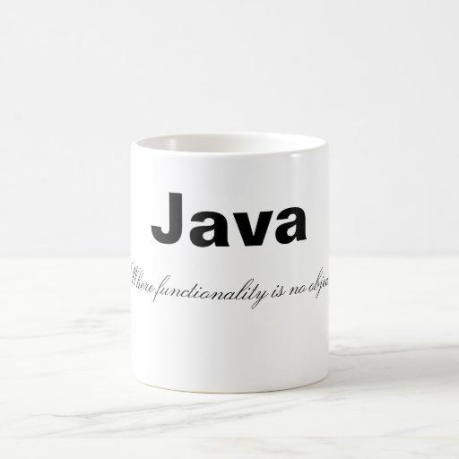 Taza divertida de Java