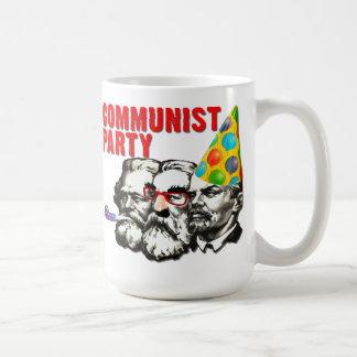Taza divertida de la parodia del Partido Comunista