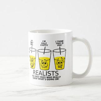 Taza divertida de la taza del realista